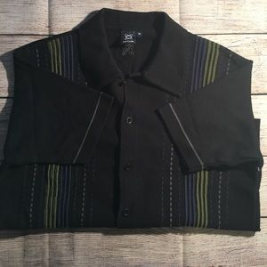 full circle Sweaters - Full circle men's button down st sleeve sweater!